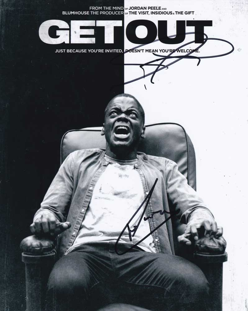 Get Out In-person autographed Cast Photo