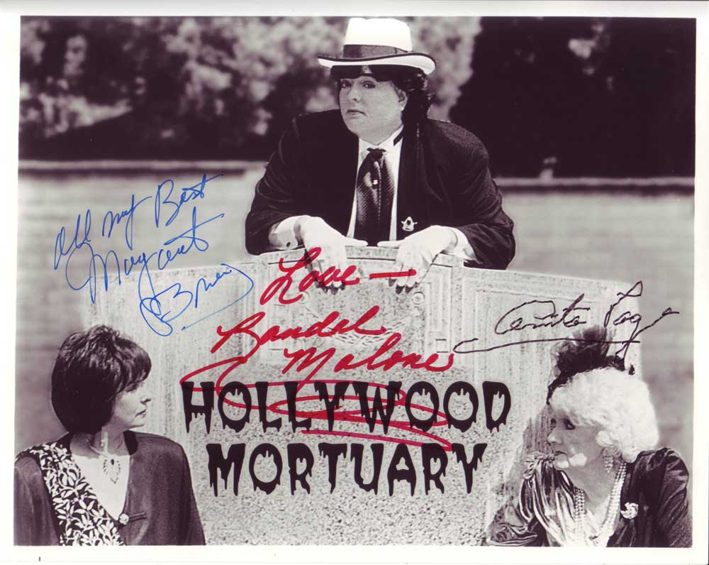 Hollywood Mortuary In-person autographed Cast photo