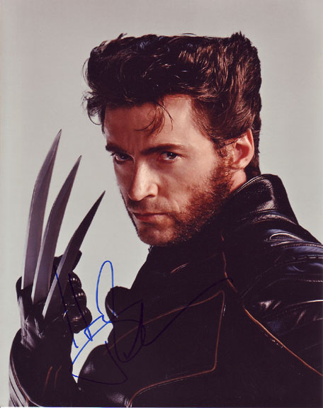 Hugh Jackman Autographed photo for sale
