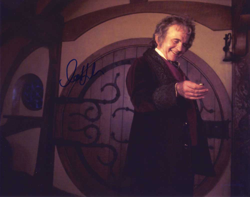 Ian Holm in-person autographed photo