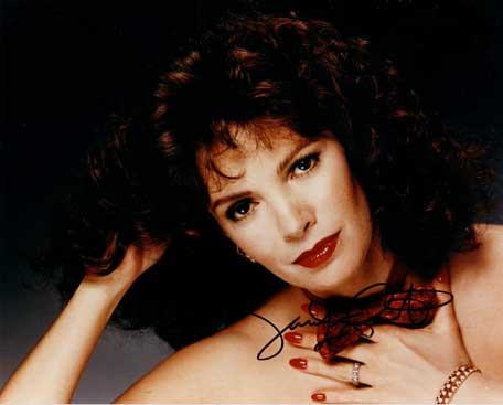 Jaclyn Smith autographed photo for sale