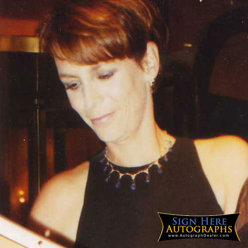 Jamie Lee Curtis in-person autographed photo