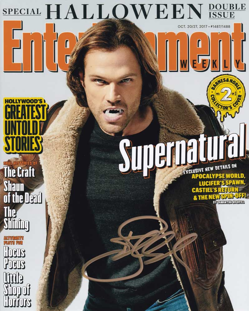 Jared Padalecki in-person autographed photo