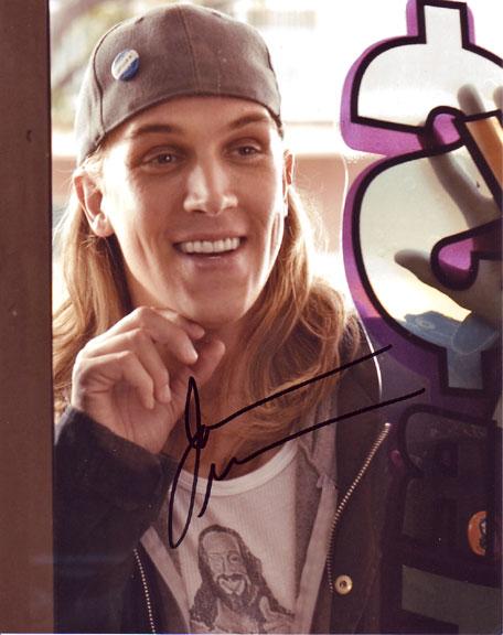 Jason Mewes inperson autographed photo