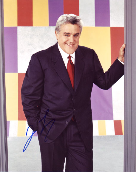 Jay Leno autographed photo for sale