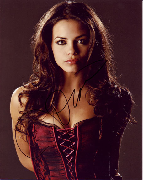 Jenna Dewan autographed photo for sale