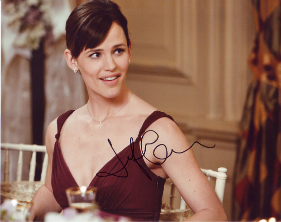 Jennifer Garner autographed photo for sale