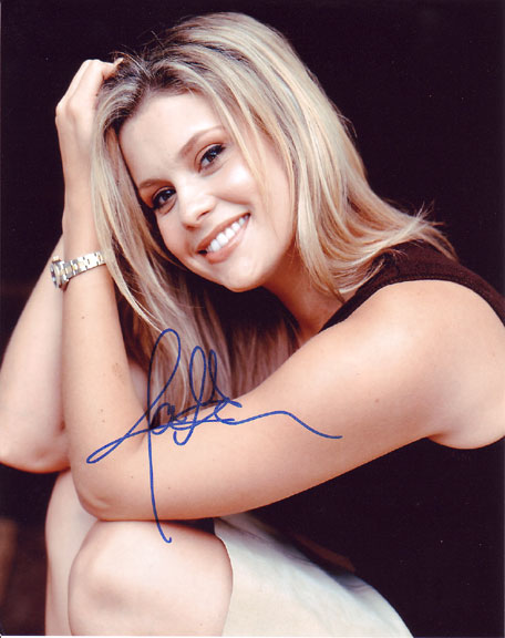 Joanna Garcia autographed photo for sale