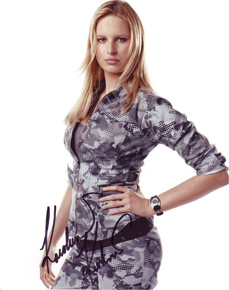 Karolina Kurkova autographed photo for sale