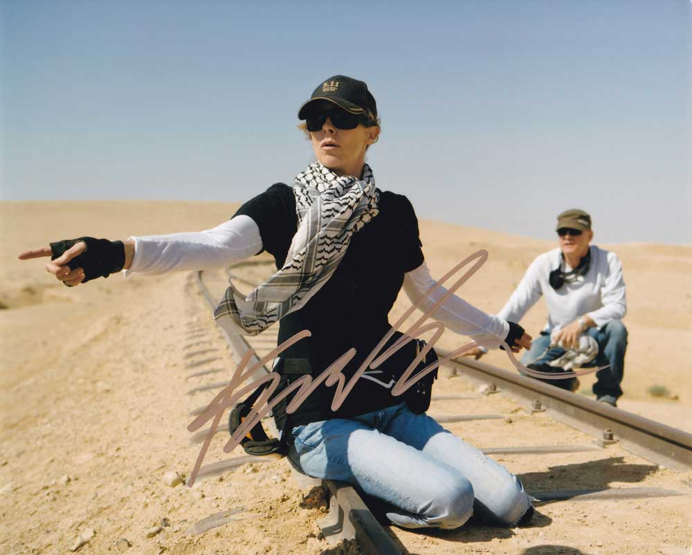 Kathryn Bigelow In-person Autographed Photo