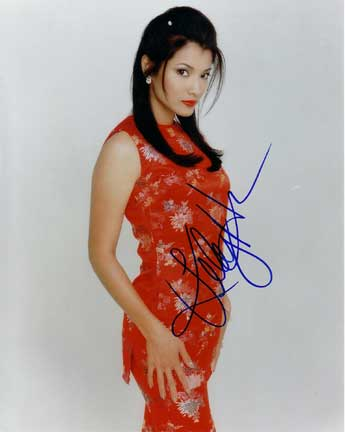 Kelly Hu autographed photo for sale
