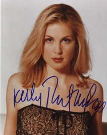 Kelly Rutherford autographed photo for sale