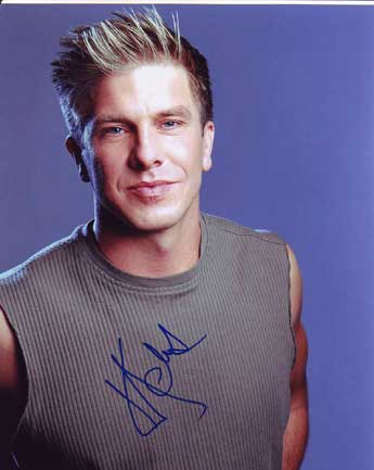 Kenny Johnson autographed photo for sale