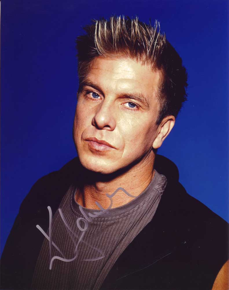 Kenny Johnson in-person autographed photo