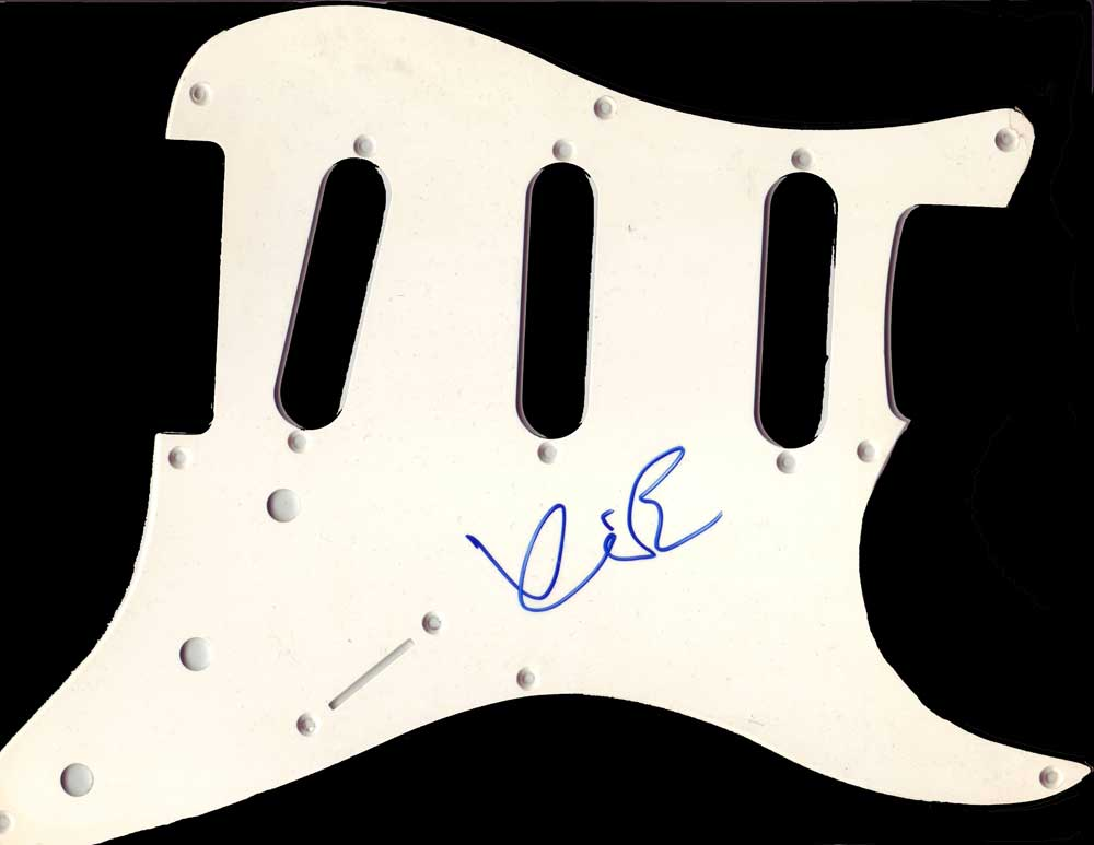 Kevin Bacon in-person Autographed Pick Guard