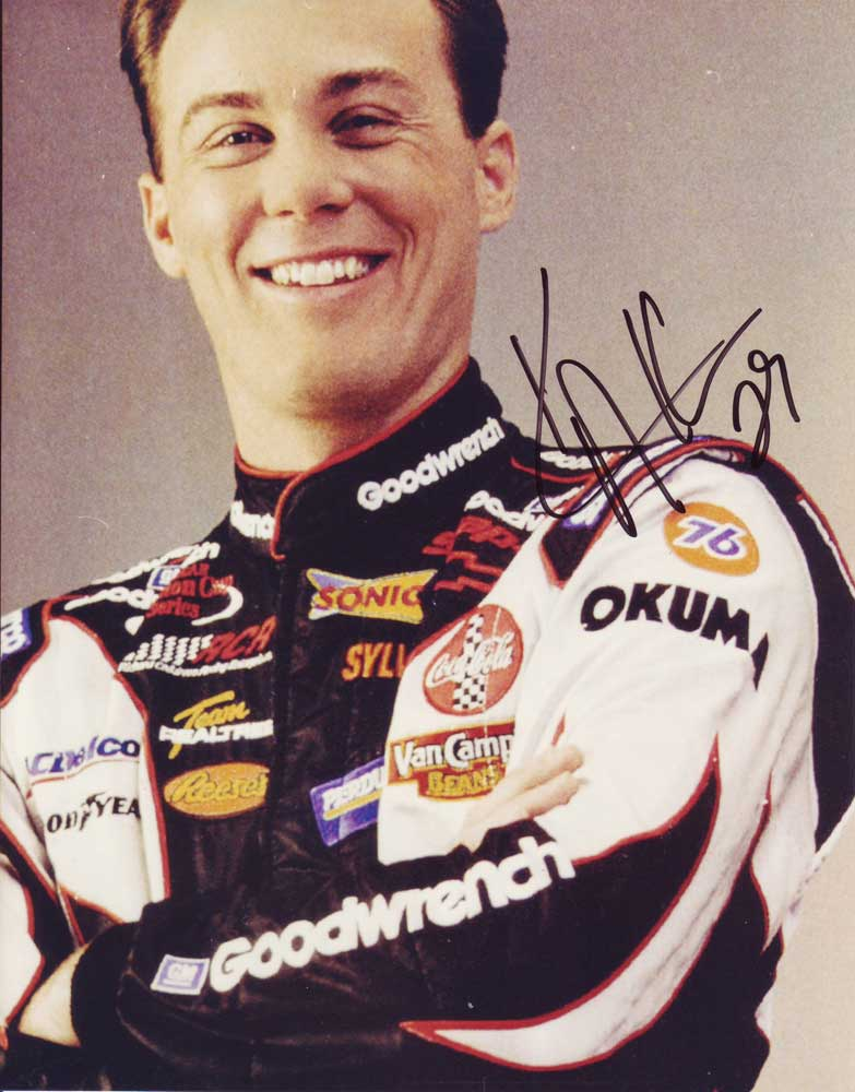 Kevin Harvick In-person autographed photo