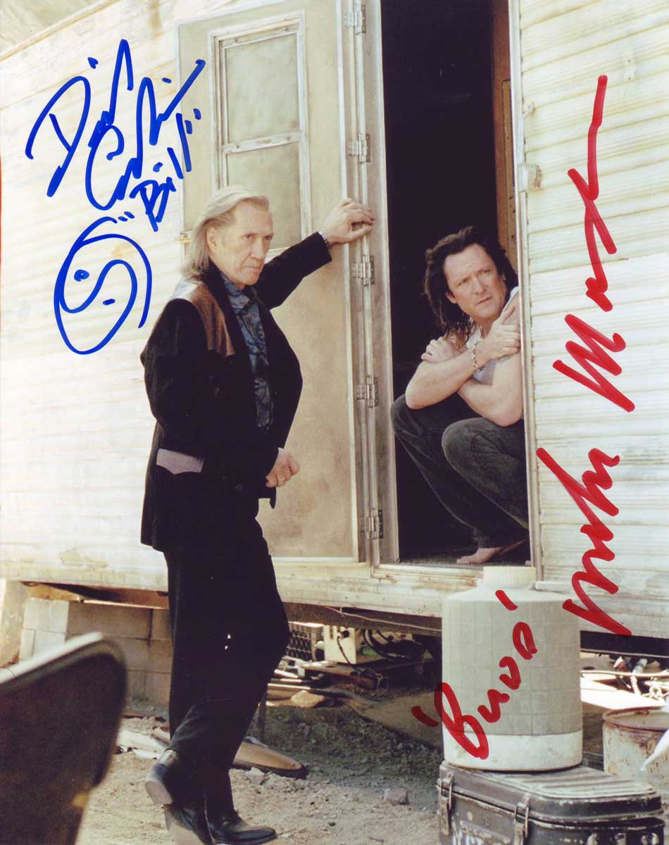 Kill Bill In-person autographed Cast Photo