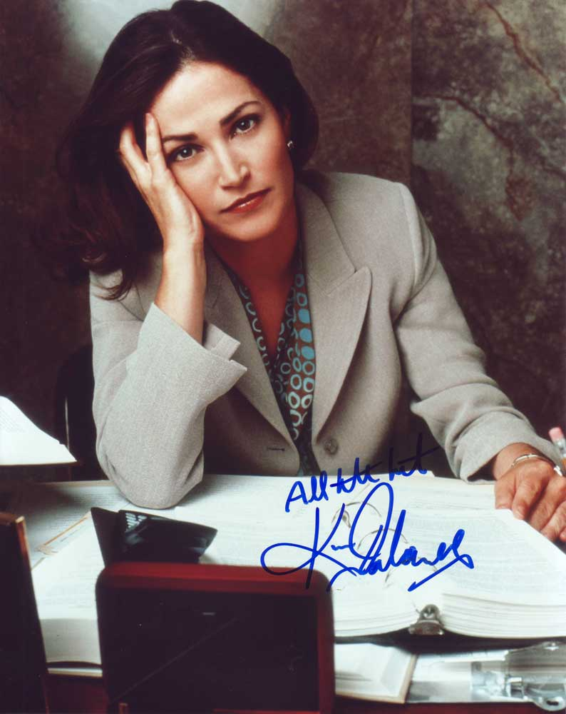 Kim Delaney in-person autographed photo
