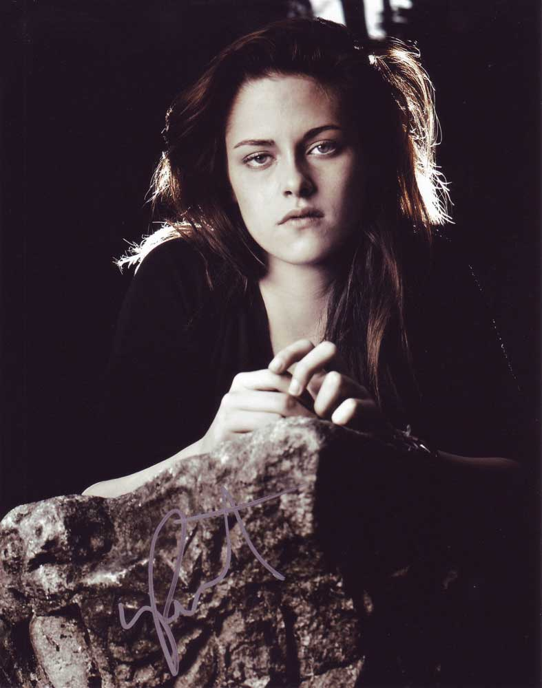 Kristen Stewart in-person autographed photo