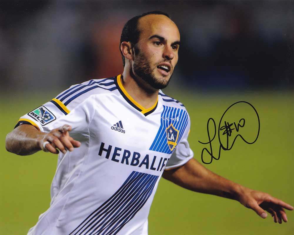 Landon Donovan In-person Autographed Photo