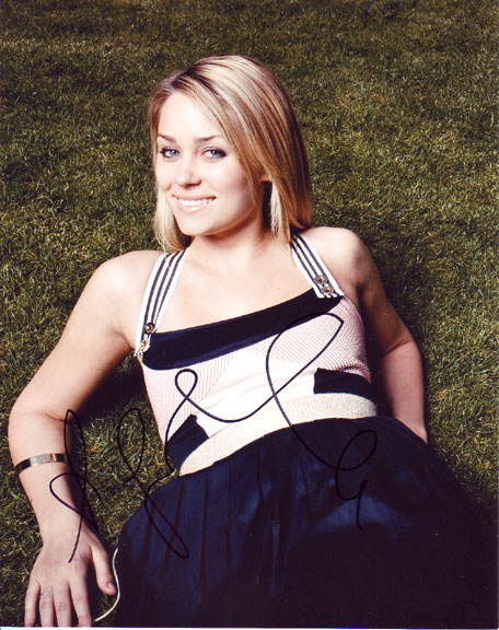 Lauren Conrad in-person autographed photo