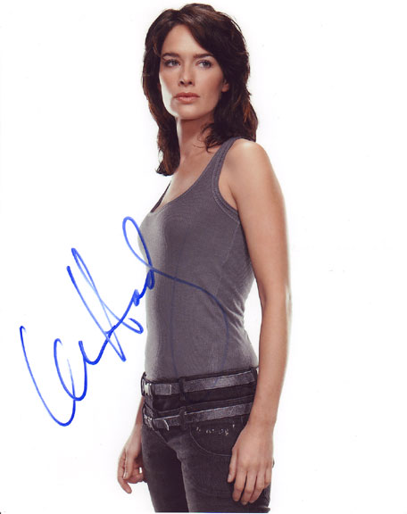 Lena Headey autographed photo for sale