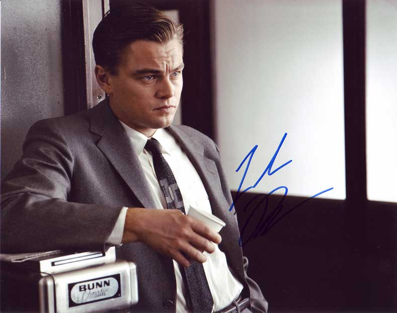 Leonardo DiCaprio in-person autographed photo