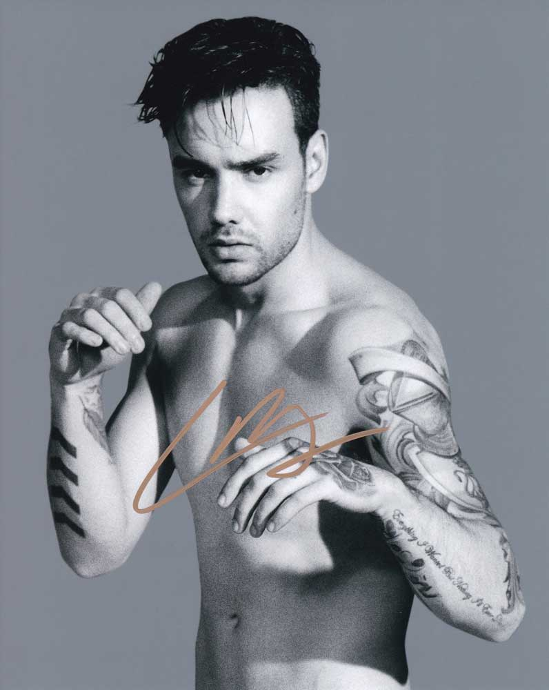Liam Payne in-person autographed photo One Direction