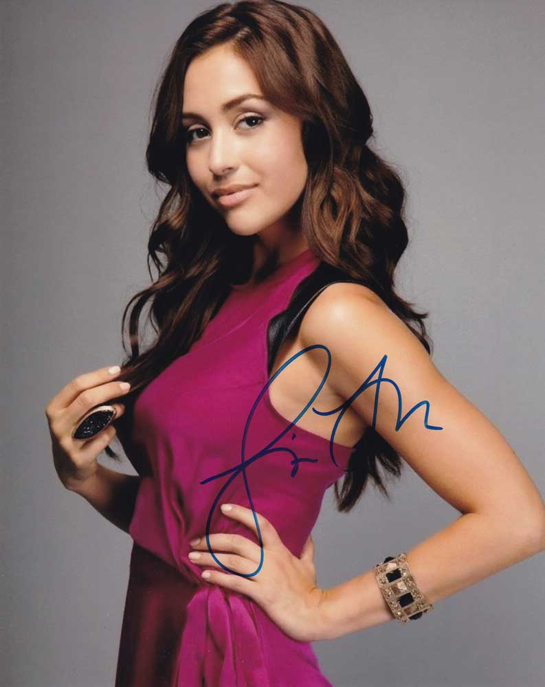 Lindsey Morgan in-person autographed photo
