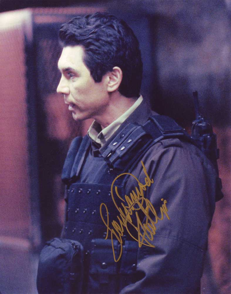Lou Diamond Phillips in-person autographed photo