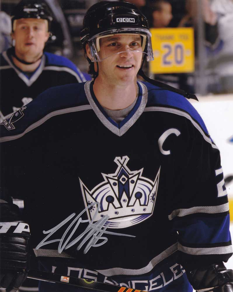 Luc Robitaille In-person Autographed Photo