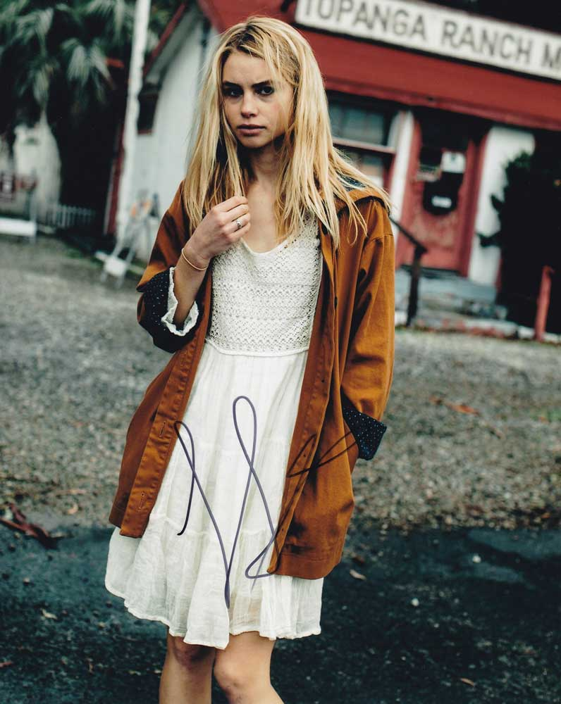 Lucy Fry In-person Autographed Photo