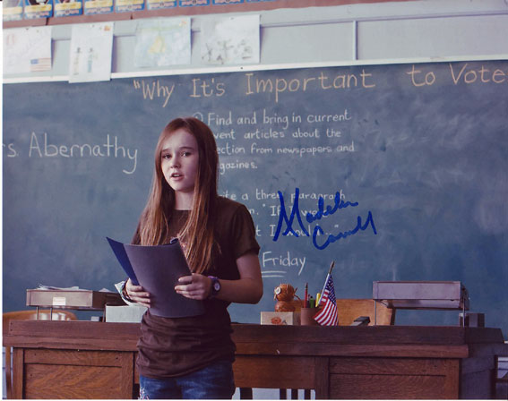 Madeline Carroll autographed photo for sale