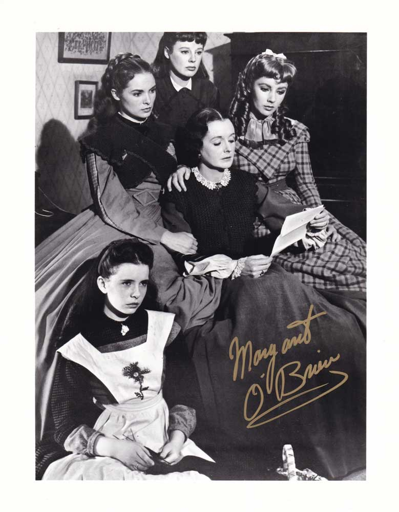 Margaret O'Brien in-person autographed photo