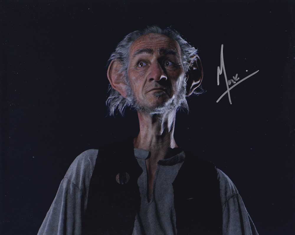 Mark Rylance in-person autographed photo