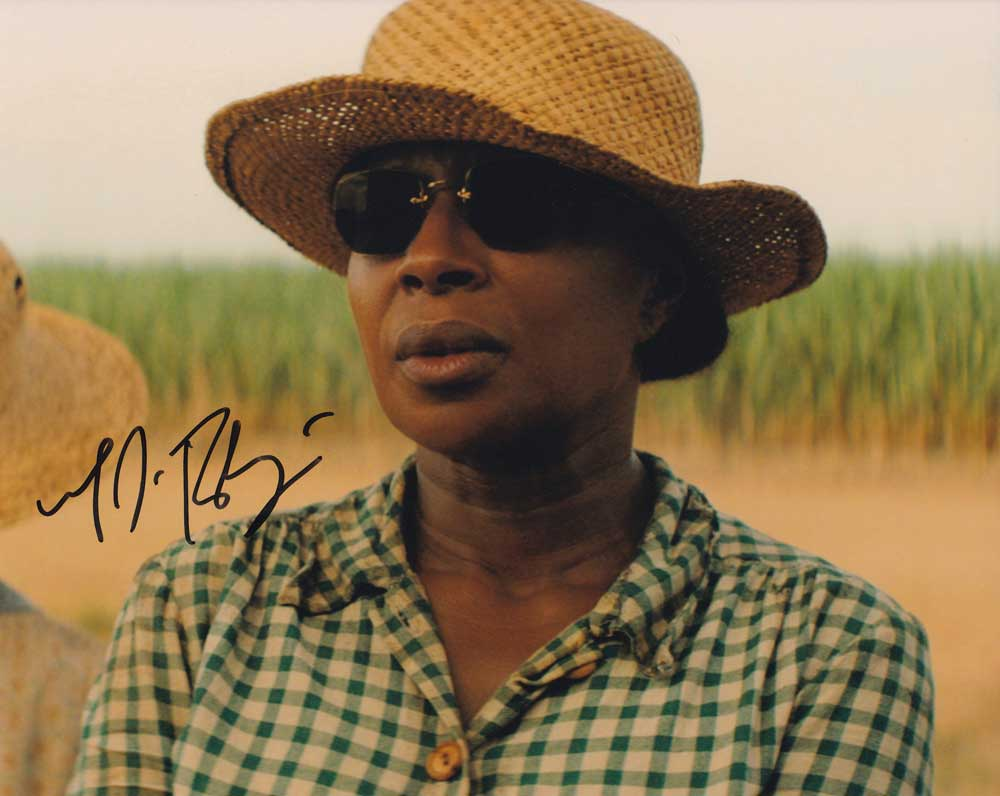 Mary J. Blige in-person autographed photo