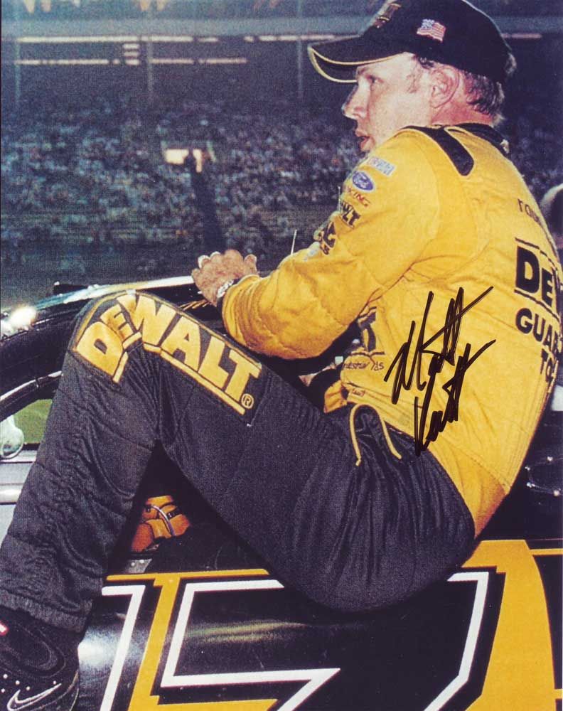 Matt Kenseth in-person autographed photo