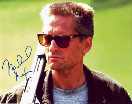 Michael Douglas in-person autographed photo