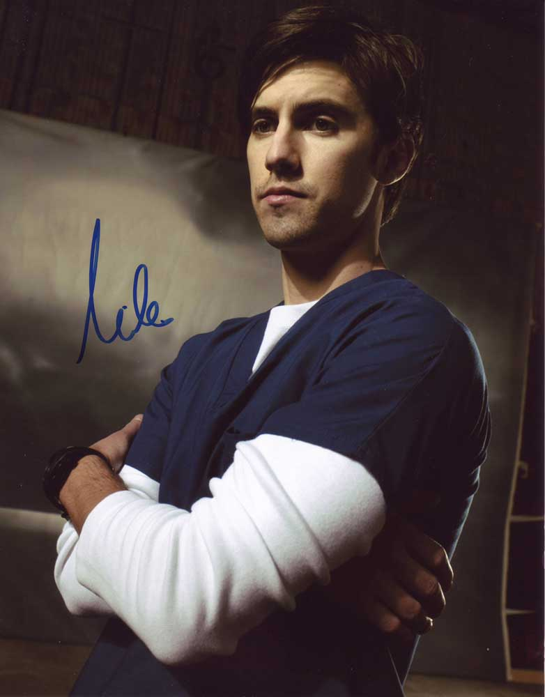 Milo Ventimiglia in-person autographed photo