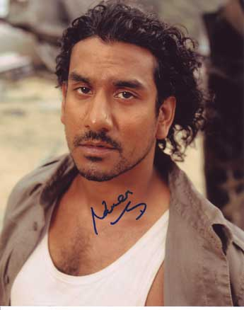 Naveen Andrews autographed photo for sale