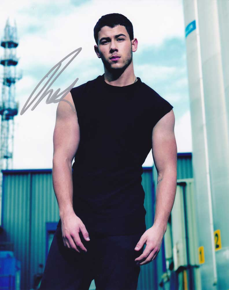 Nick Jonas In Person Autographed Photo
