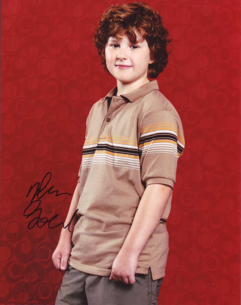 Nolan Gould in-person autographed photo