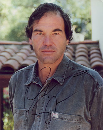 Oliver Stone autographed photo for sale