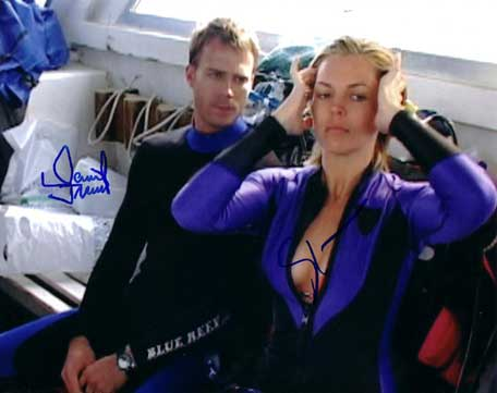 Open Water autographed cast photo for sale