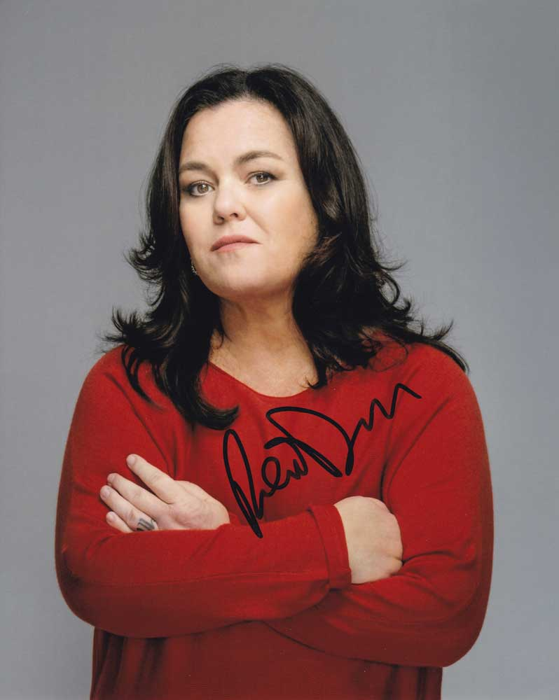 Rosie O'Donnell In-person Autographed Photo