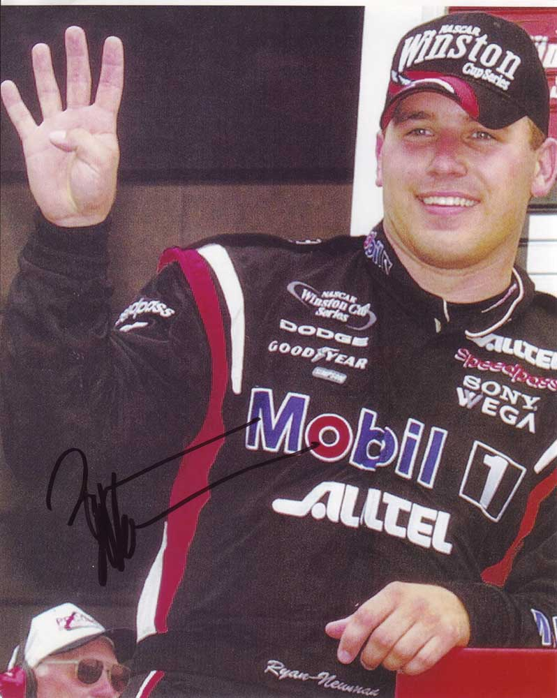 Ryan Newman In-person autographed photo