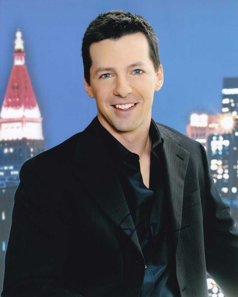 Sean Hayes in-person autographed photo