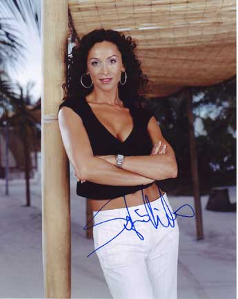 Sofia Milos autographed photo for sale