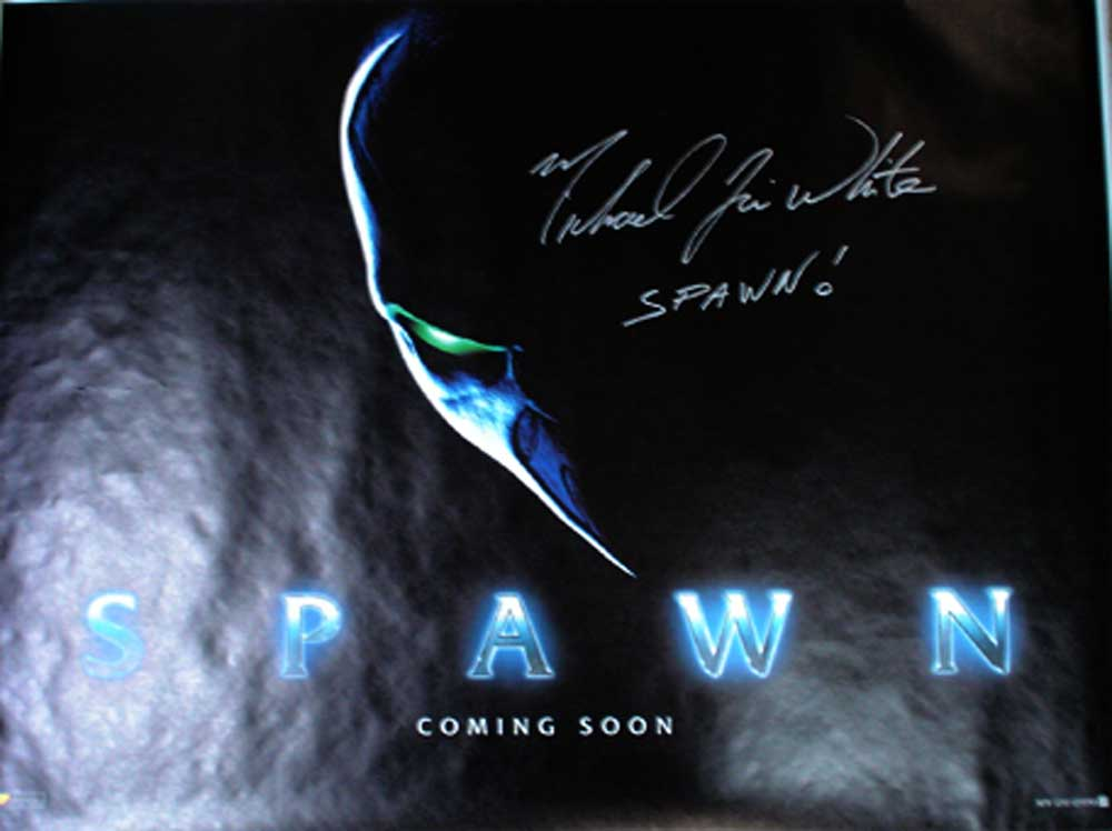 Spawn in-person autographed 30 x40 poster