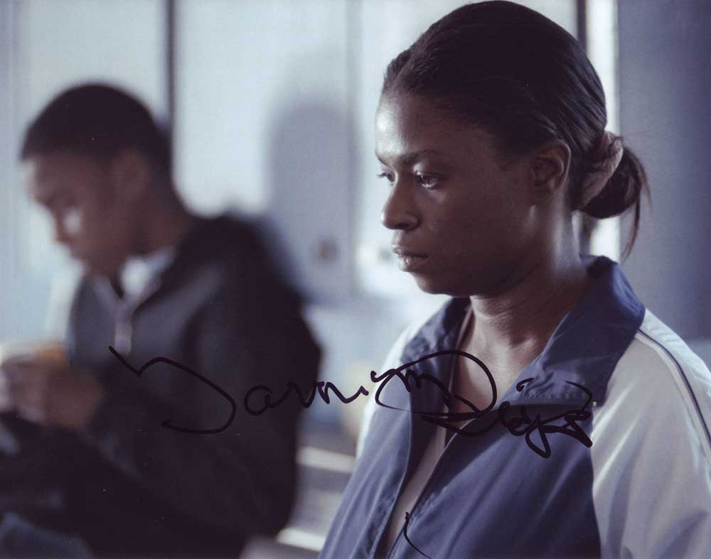 Tarra Riggs in-person autographed photo